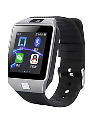 Men's Smart Watch Digital Rubber Band Black