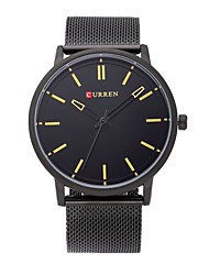 CURREN Luxury Brand Full Stainless Steel Analog Display Date Men's Quartz Watch