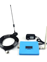 Mini Intelligent Display CDMA 850mhz PCS 1900mhz Mobile Phone Signal Booster Signal Repeater with Whip Antenna / Sucker Antenna Blue