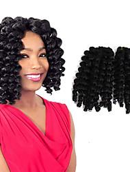 Гавана Вязаные Кудрявый Надувной Curl Pre-петлевые вязания крючком плетенки Наращивание волос Китай косы волос