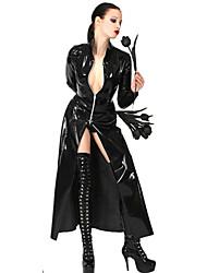 Темная Королева Черный Кожа PU сексуальная форма
