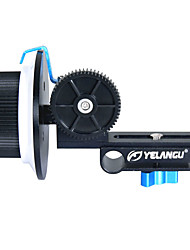 YELANGU F1Aluminum Alloy Light Follow Focus For All kinds of DSLR and Video Camera