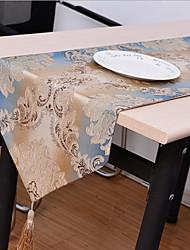 European High-grade Thickening Non-slip Cotton And Linen Table Flag 32*210cm