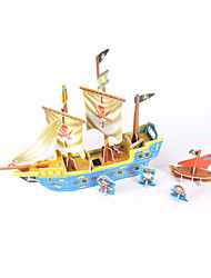 Jigsaw Puzzles DIY KIT 3D Puzzles Building Blocks DIY Toys Ship High Quality Paper