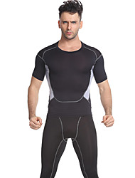 Short Sleeve Running Clothing Suits Fitness, Running & Yoga Summer Sports Wear Yoga Fitness Slim