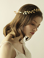 Gold Leaf Headband Laurel Leaf Tiara Bridal Hair Accessory Athena Headband-Wedding Special Occasion Anniversary Birthday Party/ Evening Headbands