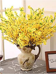 5 Branch Winter Jasmine Home Decoration Artificial Flowers