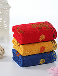 Wash Cloth,Floral High Quality 100% Cotton Towel