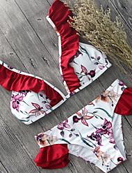 The Newest Hot Sexy Bikini Sets Women's Bikini Floral Print Swimming Suits
