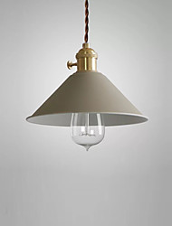 A Mini Sized of Factory Inspired Industrial Style Features Pendant Ceiling Light Retro Vintage Metal for Antique and Historic Pendant Hanging Lamp