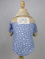 Chien Tee-shirt Vêtements pour Chien Décontracté / Quotidien Etoiles