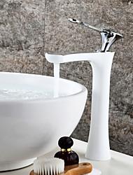 Conjunto Central Válvula Cerâmica Uma Abertura for  Bronze Polido a Óleo , Torneira pia do banheiro