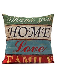 Retro Style Pillowcase Home Decor Pillow Cover