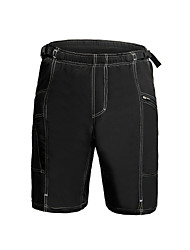 Cycling Padded Shorts Men's Bike Baggy shorts Bottoms Cycling Spandex 100% Polyester SolidMountain Cycling Road Cycling Recreational