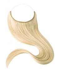 18inch невидимая проволока переворот в наращивании человеческих волос одна часть удлинителя 80g