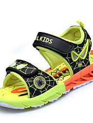 Boys' Sandals Gladiator Comfort Light Soles PU Spring Summer Casual Outdoor Gladiator Comfort Light Soles Magic Tape Flat HeelRoyal Blue