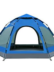 LINGNIU® 5-8 Pessoas Tenda Duplo Barraca de acampamento Tenda Automática Prova-de-Água Térmico/Quente A Prova de Vento Á Prova-de-Chuva