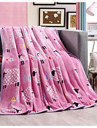 Super Suave Animal Poliéster cobertores