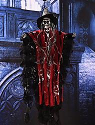 Halloween halloween câmara de segredos vestir pingente esqueleto cachecol bibling cena vestir esqueleto complicado