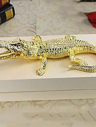 Diy ornements automobiles ornements de crocodile pendentif voiture de style européen&Résine ornements