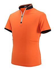 Men's Short Sleeve Golf POLO Shirt Tops Anti-wrinkle Breathable Comfortable Golf