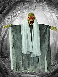 Halloween Decoration Accessories Pendant Mogabas Decorative Electric Skulls Glowing Ghosts Guards Horror Sounds