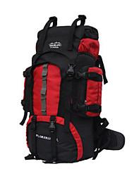 Unisex Borsa da palestra e borsone Nylon Per tutte le stagioni Uso professionale Campeggio e hiking Arrampicata Rotondi Cerniera Blu Rosso
