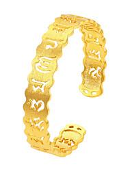 Homens Mulheres Pulseiras Algema Moda Vintage Personalizado Jóias de Luxo Chapeado Dourado Forma Redonda Nota Musical Jóias Para Festa