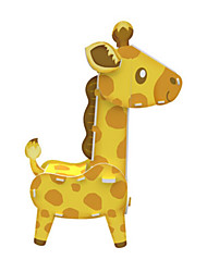 Rompecabezas Kit de Bricolaje Puzzles 3D Bloques de construcción Juguetes de bricolaje Animal Papel duro