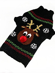 Cane Maglioni Abbigliamento per cani Natale Capodanno Renna