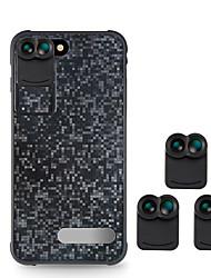 Lentille de téléphone mobile voliee 120 grand angle 10x macro 160 lentille de poisson lentille externe
