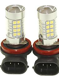Sencart 2шт h8 pgj19-1 противотуманные фары дальнего света (белый / красный / синий / теплый белый) (dc / ac9-32v)