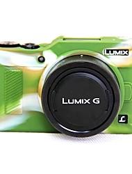 Dengpin мягкий силиконовый доспех кожа резиновая камера чехол сумка для panasonic dc-gf9kgk gf9 (различные цвета)