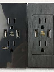 Электрические розетки PP С выходом USB-зарядного устройства 5*3.5*2