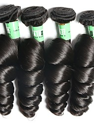 Indian Virgin Hair Loose Wave 4 Bundles Unprocessed Virgin Remy Human Hair Weave Total 400 Grams