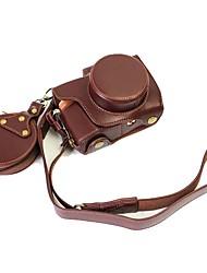 Dengpin кожаная сумка для чехла для olympus e-pl8 epl8 14-42ez объектив (различные цвета)