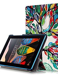 печати Чехол для вкладки Lenovo tab3-7 важно 710 710f tb3-710f 7,0 дюйма с защитой экрана