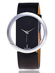 XU Women's Transparent Hollow Out Casual Wrist Watch