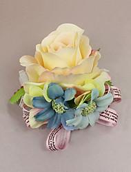 """Fleurs de mariage Petit bouquet de fleurs au poignet Cérémonie de mariage Occasion spéciale 2.76""""(Env.7cm)"""