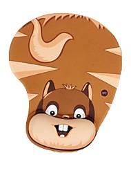 Tapete do rato do anime dos desenhos animados 3d tapete do rato grande do jogo do descanso do pulso do gel do silicone do jogo 3d macio