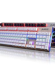 Ajazz Firstblood 104 Keys  Mechanical Keyboard Black Switches AK40s Backlit Gaming Keyboard