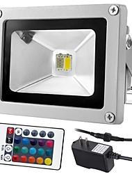 85-265V Input DC12V Output Outdoor 10W RGBWhite/RGBWarm White  LED Floodlight