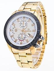 Муж. Нарядные часы Модные часы Наручные часы Китайский Кварцевый Календарь Металл Нержавеющая сталь Группа Cool Серебристый металл