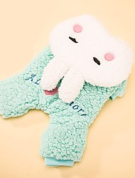 Dog Costume Dog Clothes Cosplay Love Light Blue Blushing Pink