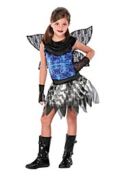 Cosplay Costumes Masquerade Cosplay Festival/Holiday Halloween Costumes Vintage Dresses Wings Halloween Carnival Children's DayKids