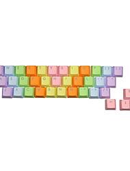 37 Keys PBT Keycap Set for Mechanical Keyboard Transparent Injection Keycap