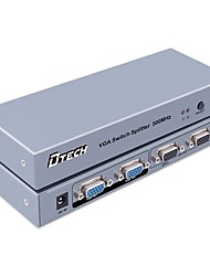 DTech VGA Switch VGA to VGA Switch Female - Female Two Input Two Output