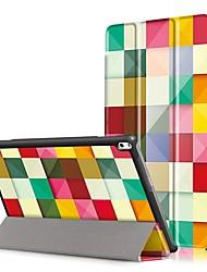 Cubierta de la caja de impresión para lenovo tab4 tab 4 10 más x704f tb-x704f tab4-x704n con protector de pantalla