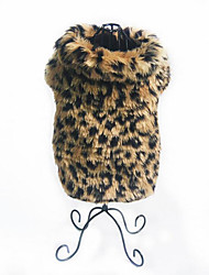 Dog Vest Dog Clothes Party Casual/Daily New Year's Leopard