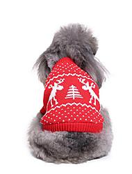 Cane Maglioni Abbigliamento per cani Natale Natale